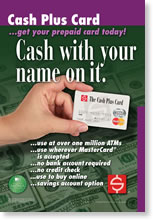 Cash Plus Debit Card
