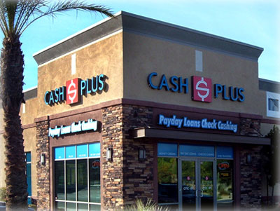 Cash Plus Inc. Storefront